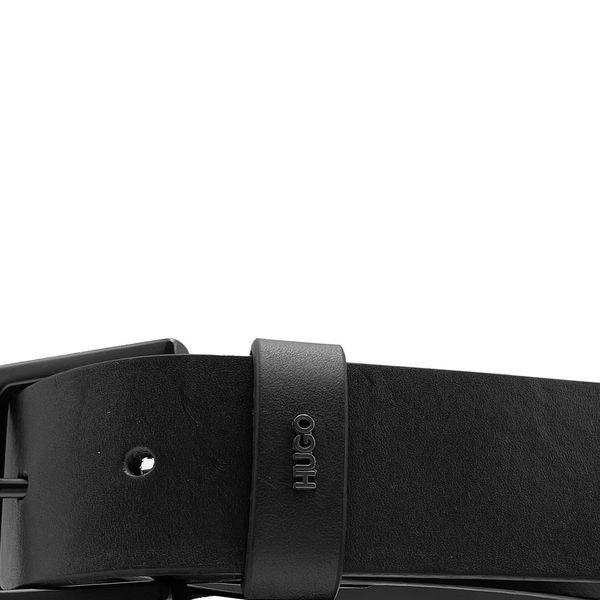 3. Cintura in pelle HUGO Nero Hugo