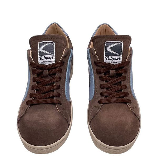 7. Sneakers basse scamosciate Valsport Marrone Valsport