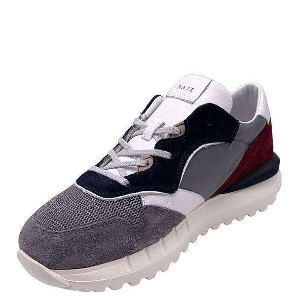 4. Sneakers running modello luna in grigio D.A.T.E Grigio D.A.T.E.