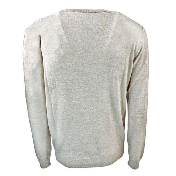 3. Maglia girocollo in misto lana Seventy Beige Seventy