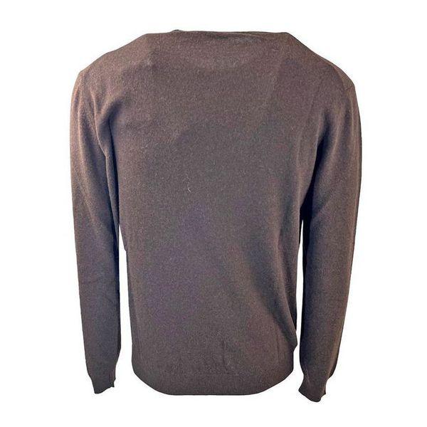 3. Maglia girocollo in misto lana Seventy Marrone Seventy