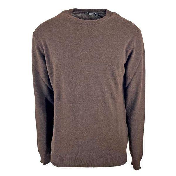 1. Maglia girocollo in misto lana Seventy Marrone Seventy