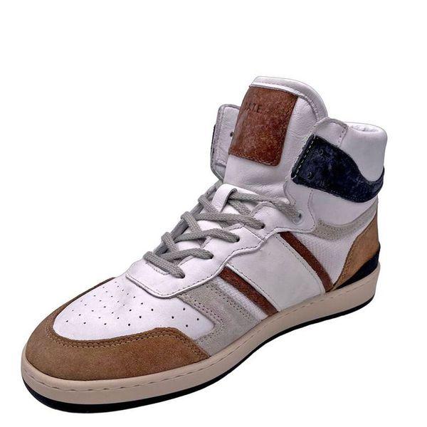 4. Sneakers alte beige-bianco D.A.T.E. Beige D.A.T.E.