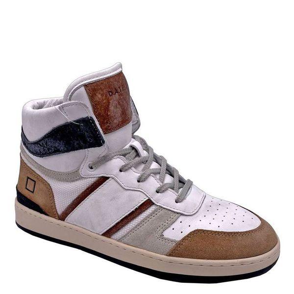 5. Sneakers alte beige-bianco D.A.T.E. Beige D.A.T.E.