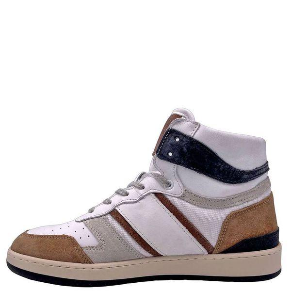 1. Sneakers alte beige-bianco D.A.T.E. Beige D.A.T.E.