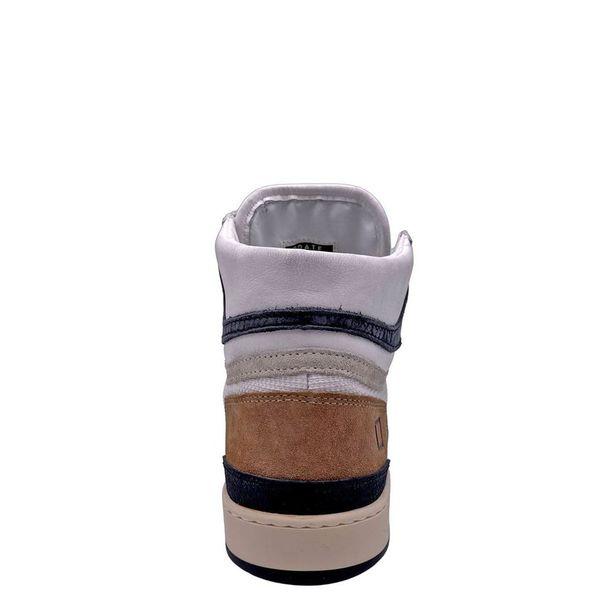 6. Sneakers alte beige-bianco D.A.T.E. Beige D.A.T.E.