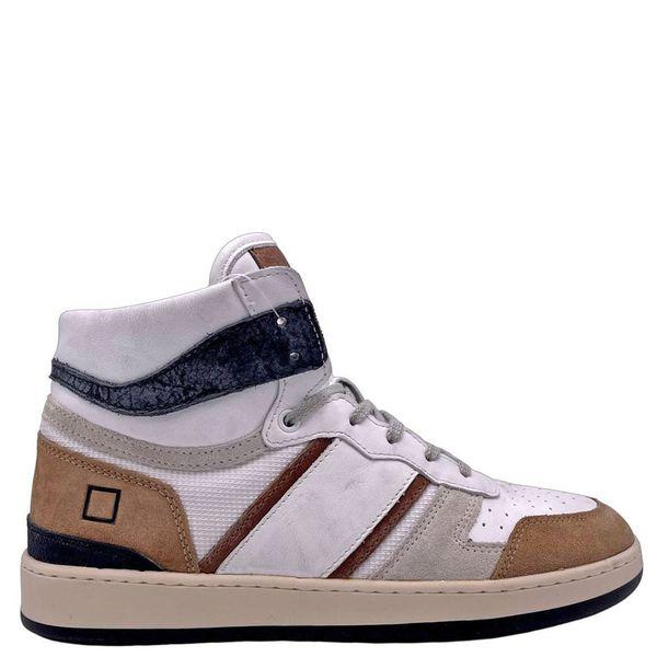 2. Sneakers alte beige-bianco D.A.T.E. Beige D.A.T.E.