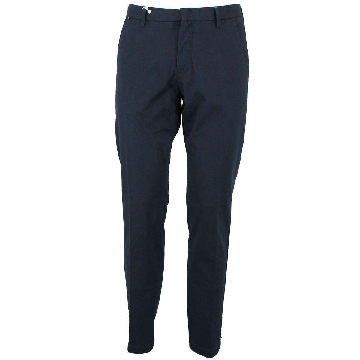 Pantalone chino in cotone stretch Blue At.p.co