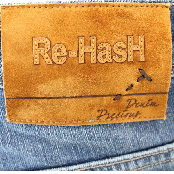 2. Jeans elasticizzato chiaro Re-Hash Blue Re-Hash