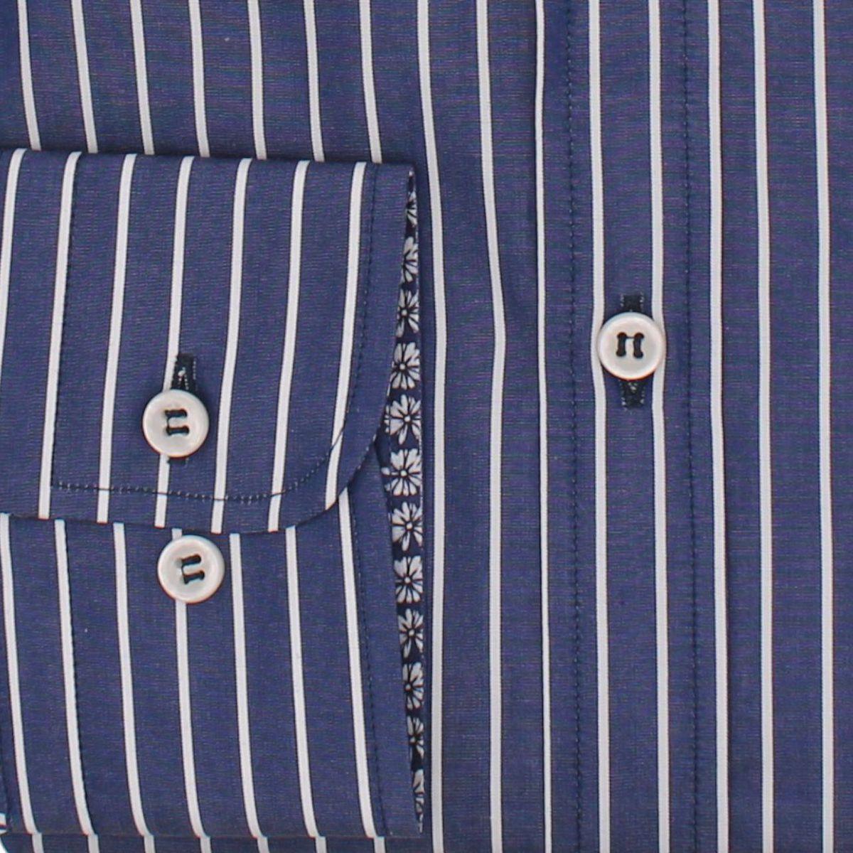 Camicia a righe blu Blue PAUL & SHARK