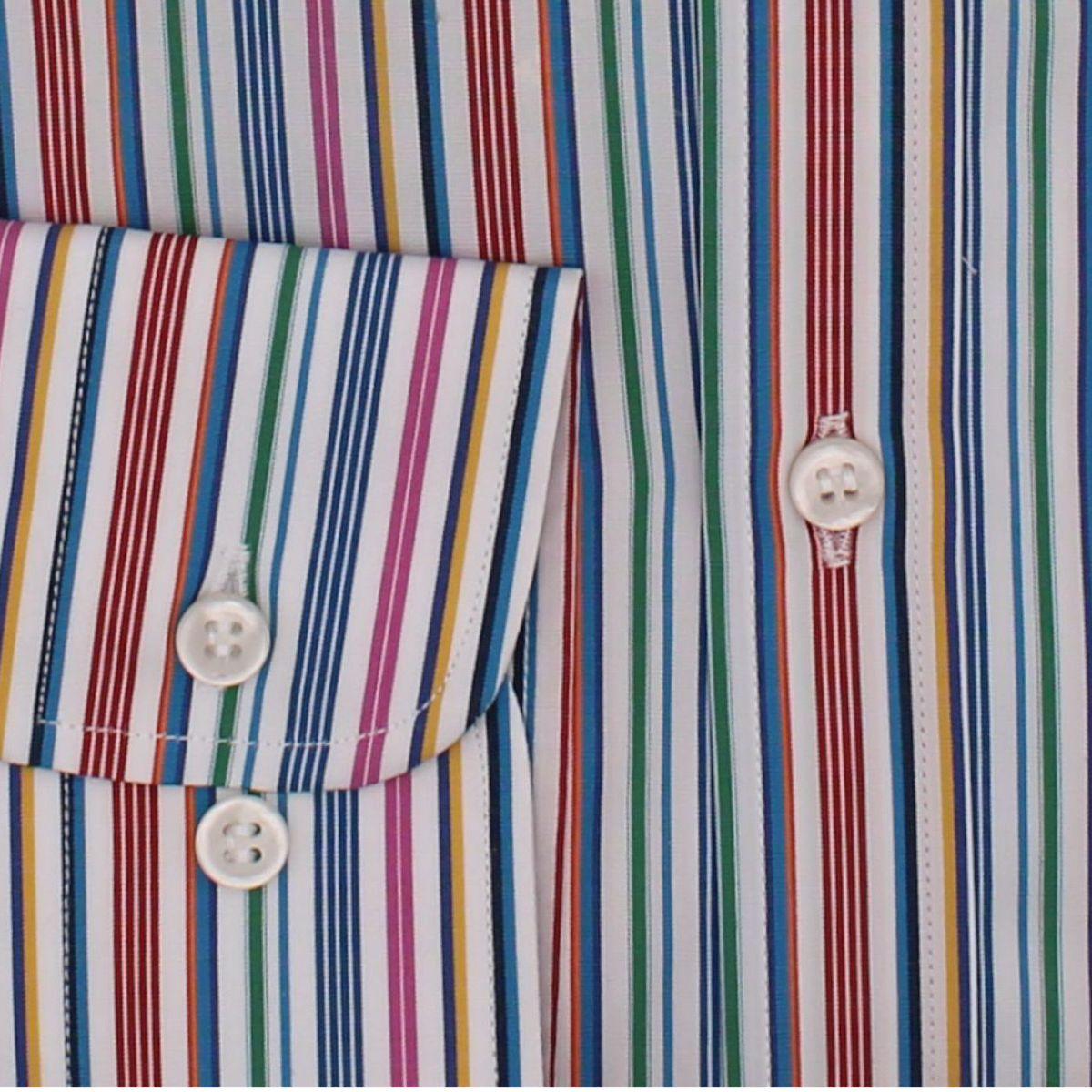 Camicia in cotone a righe Fantasy PAUL & SHARK