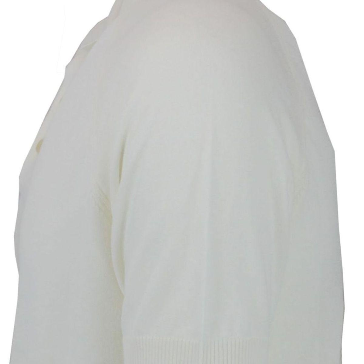 Polo a maniche corte in cotone Bianco Paolo Pecora Milano