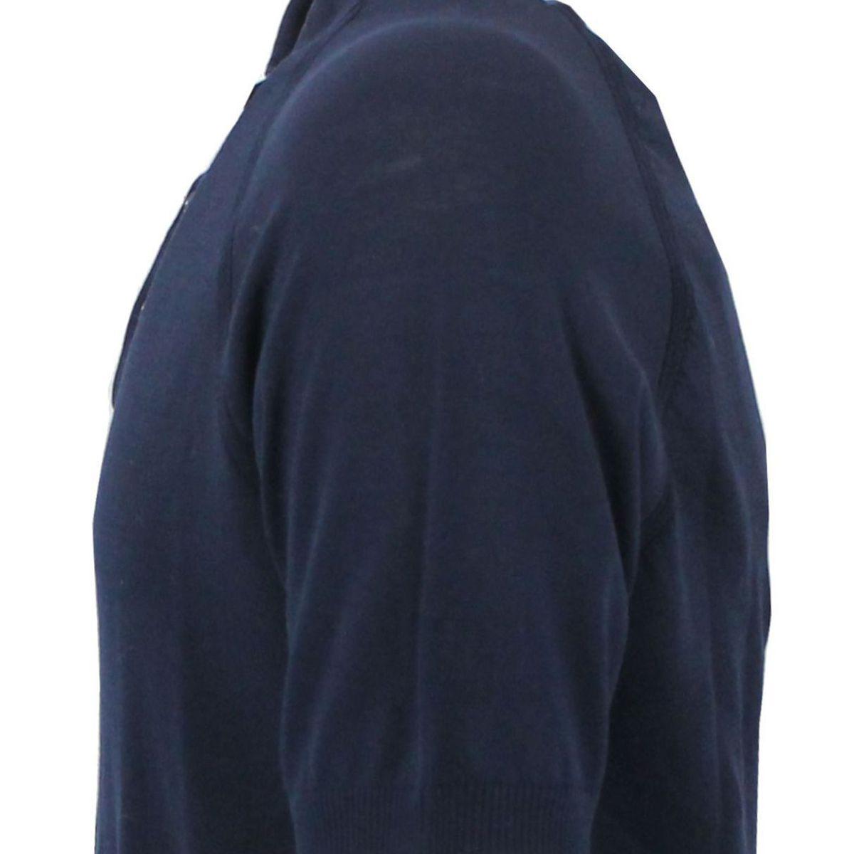 Polo a maniche corte in cotone Blue Paolo Pecora Milano