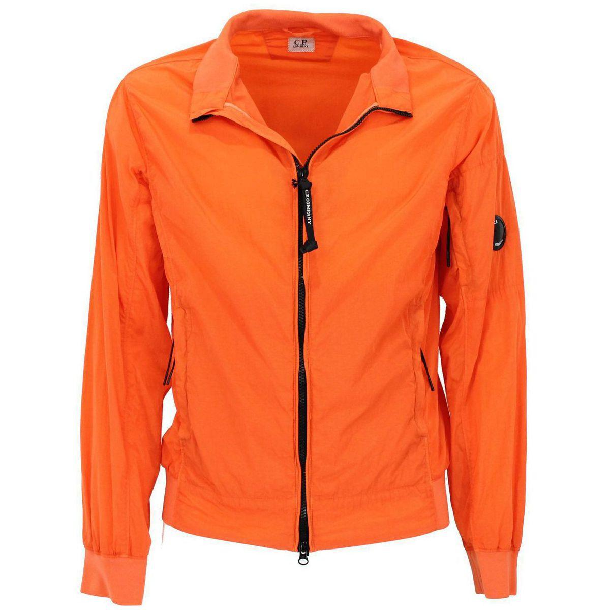 Giacca con zip Arancione C.P. Company