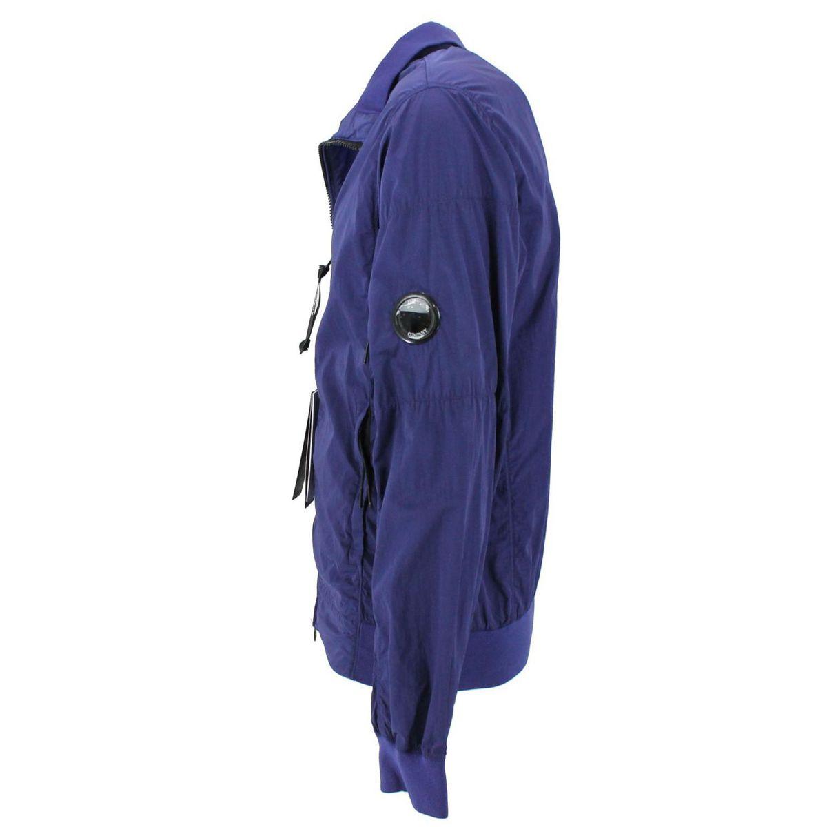 Giacca con zip Blue C.P. Company