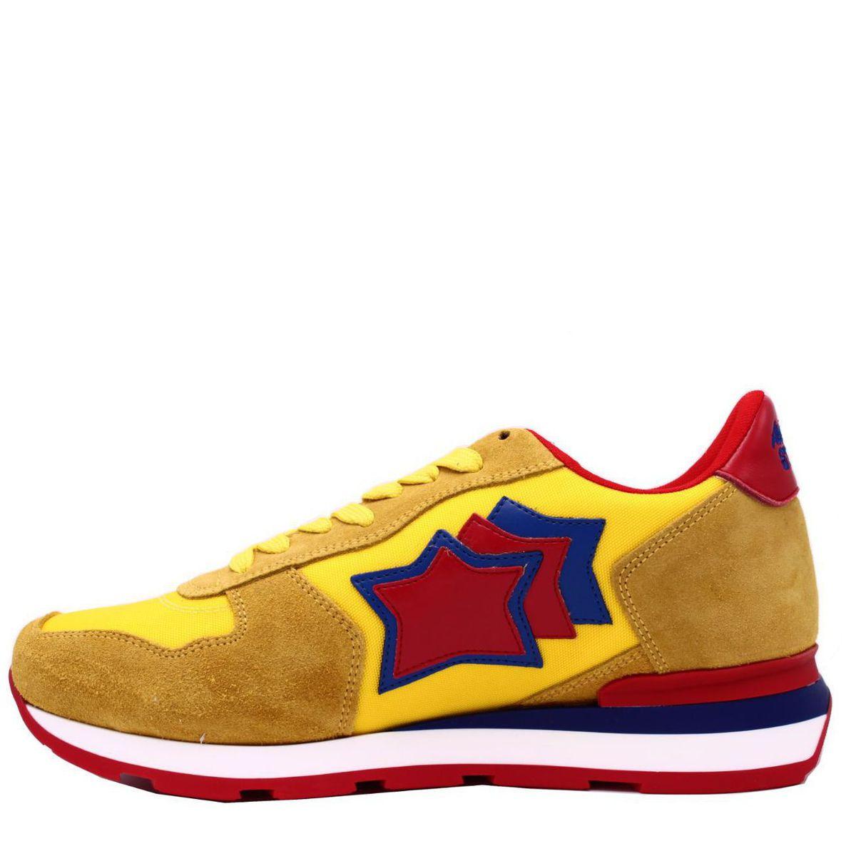 Sneakers modello antares giallo Giallo Atlantic Stars