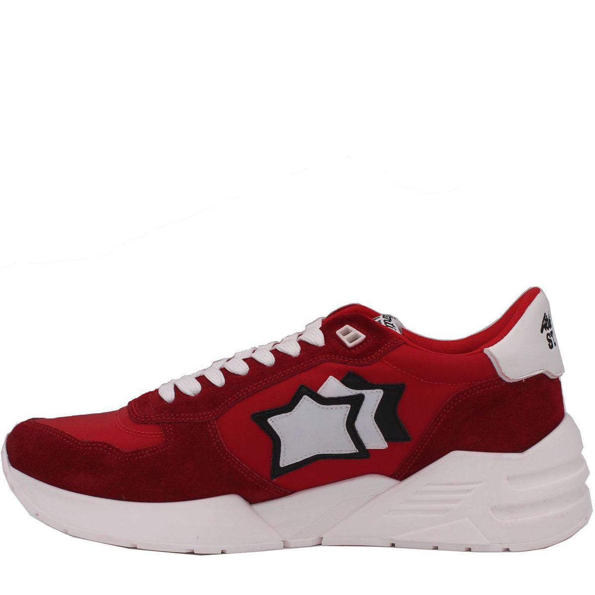 1. Sneakers modello mars rosso Atlantic Stars Rosso Atlantic Stars