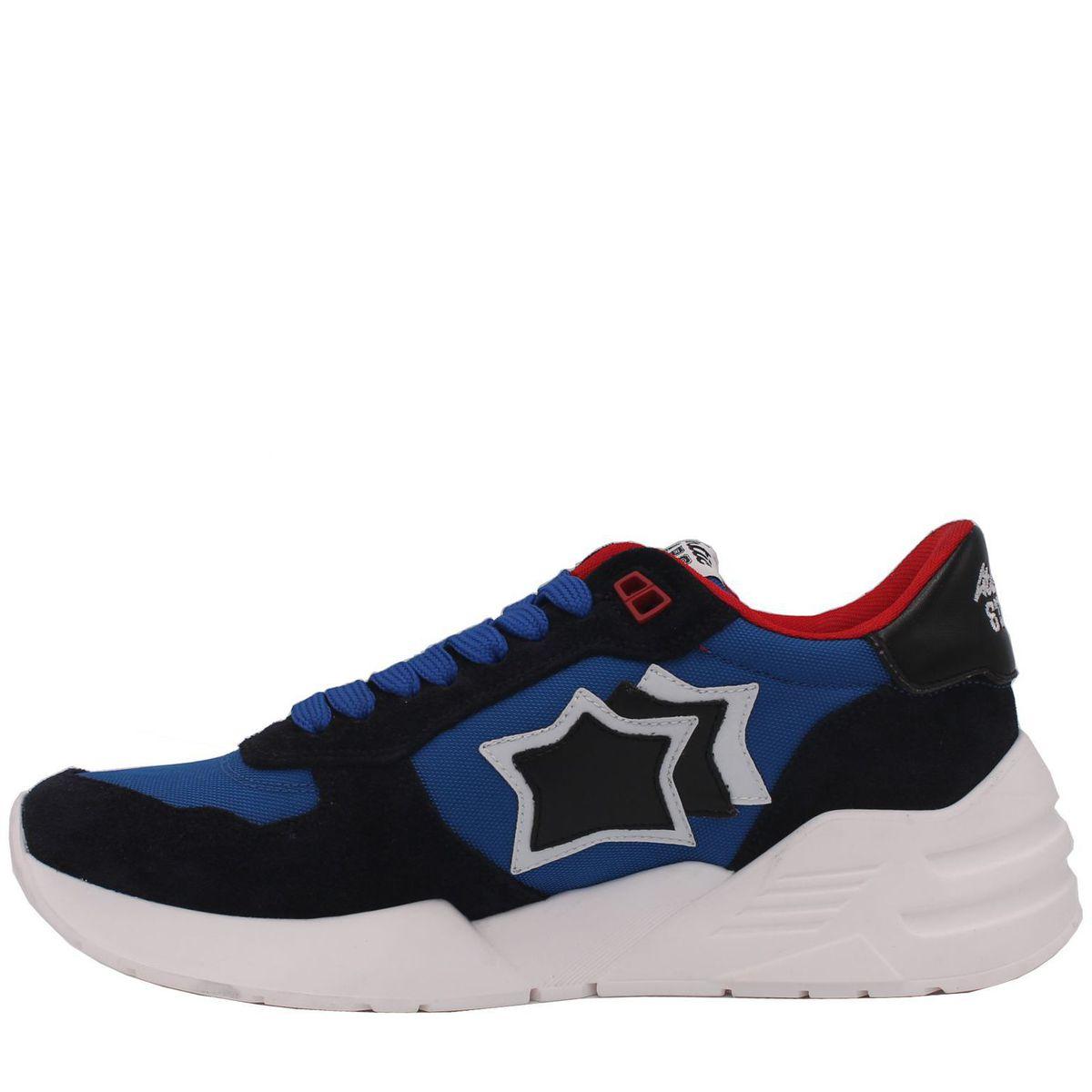 1. Sneakers modello mars nero Atlantic Stars Azzurro Atlantic Stars