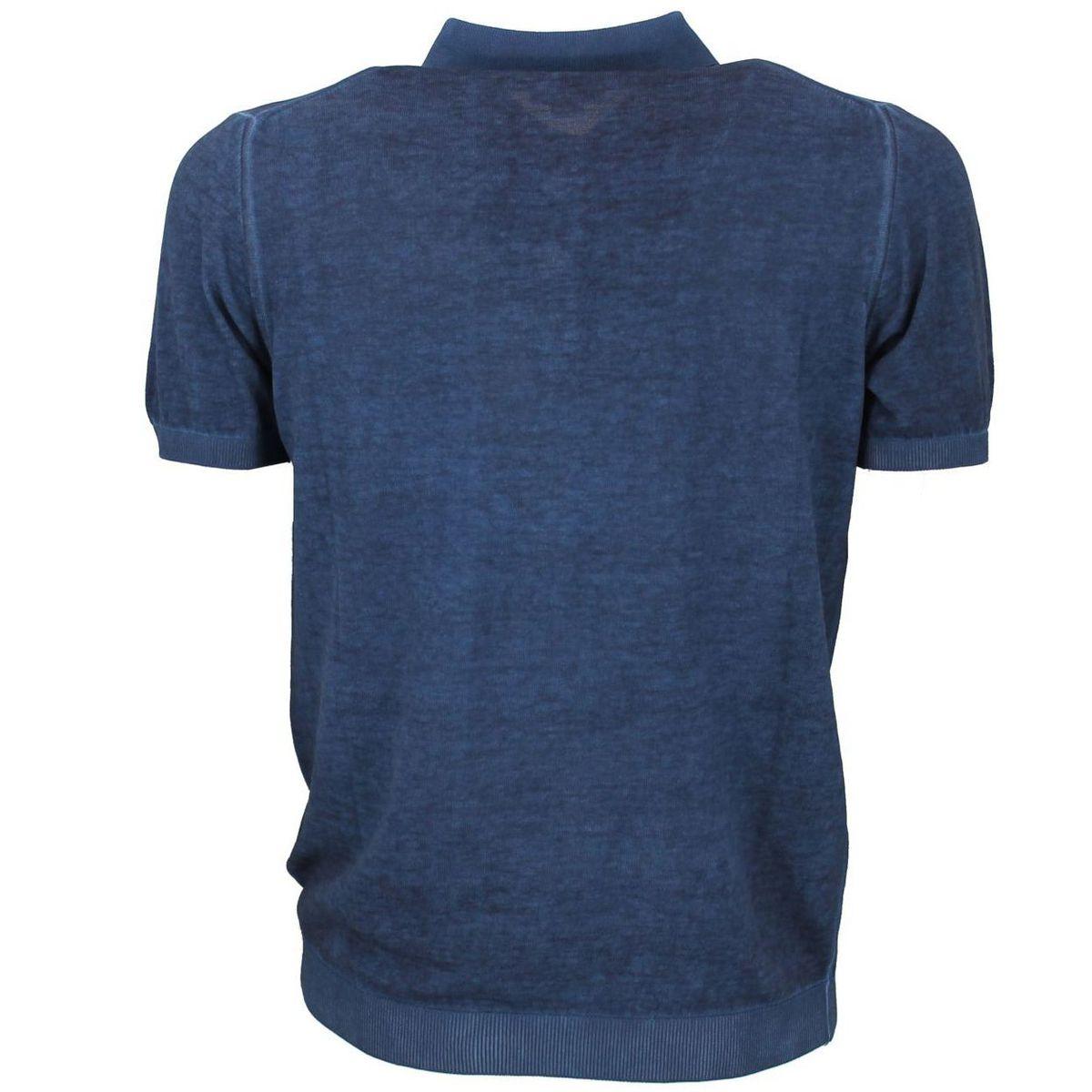 Polo in puro cotone a maniche corte Blue Seventy