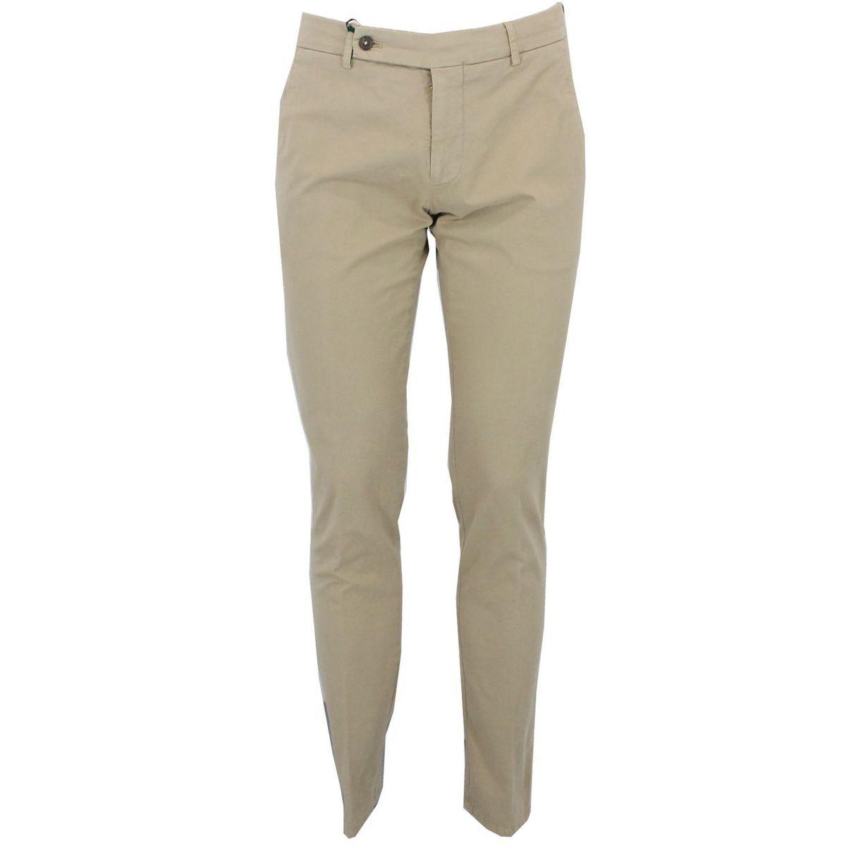 Pantalone in cotone Beige Berwich