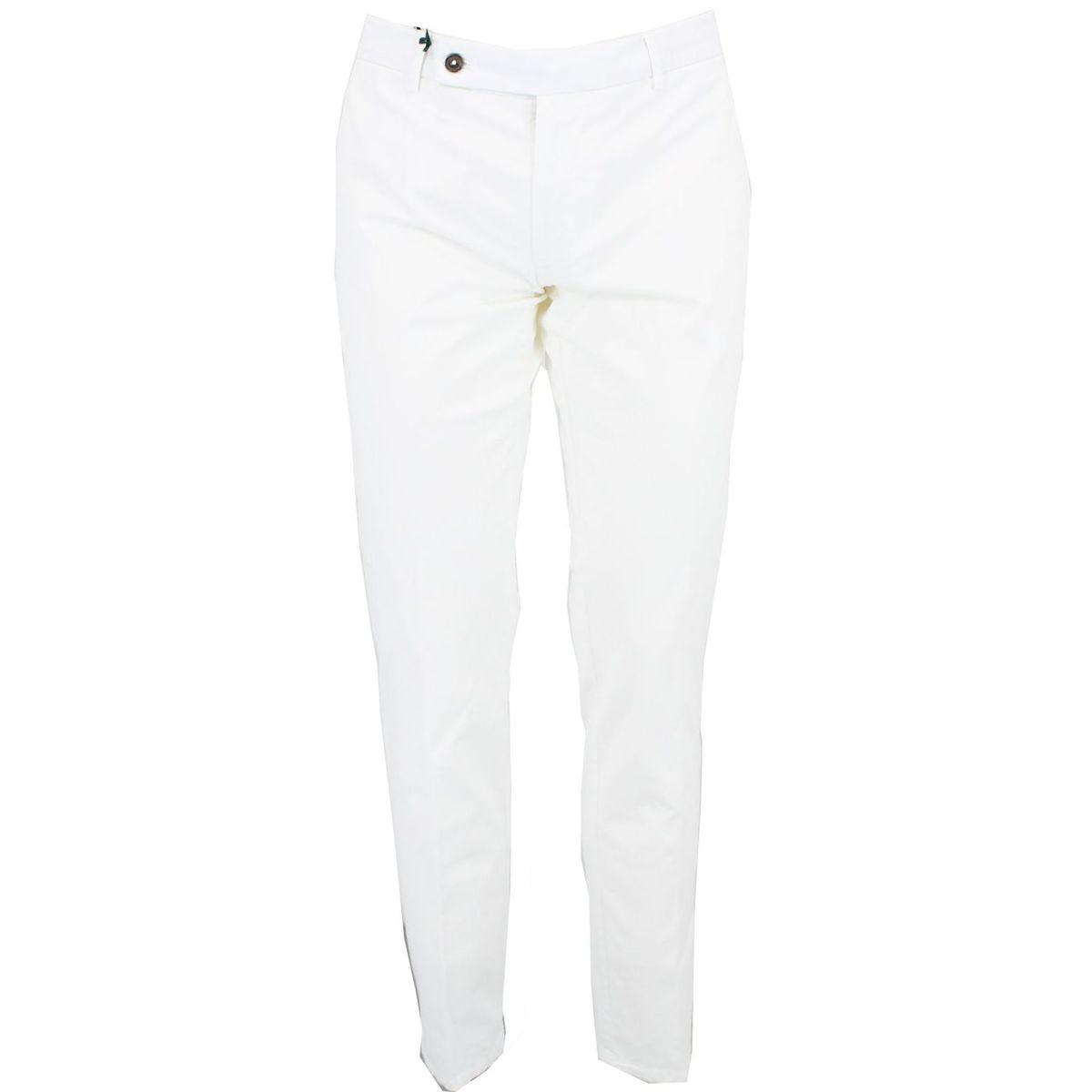 Pantalone in cotone Bianco Berwich