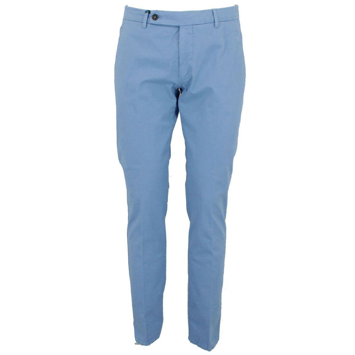 Pantalone in cotone Celeste Berwich