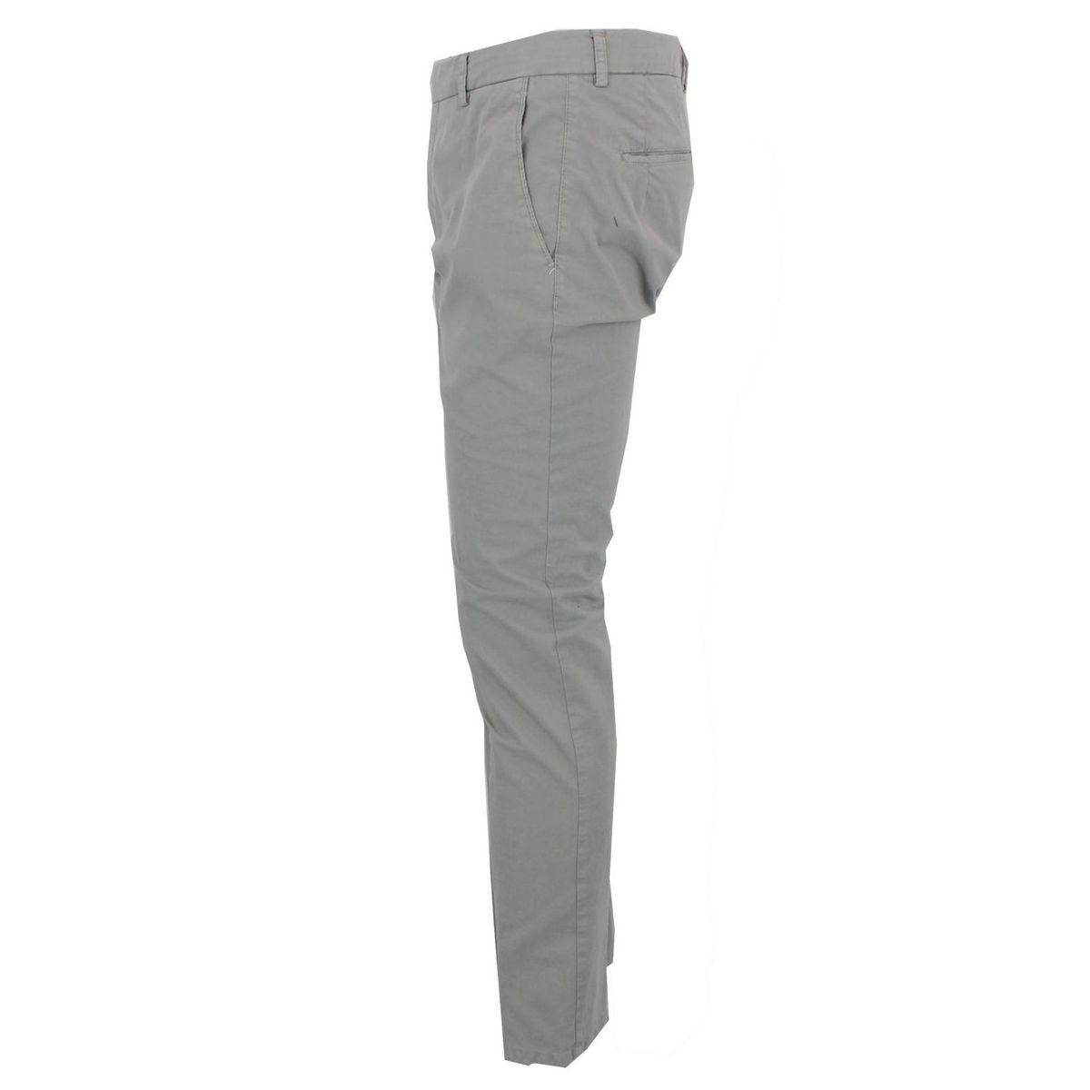Pantalone in cotone Grigio Berwich