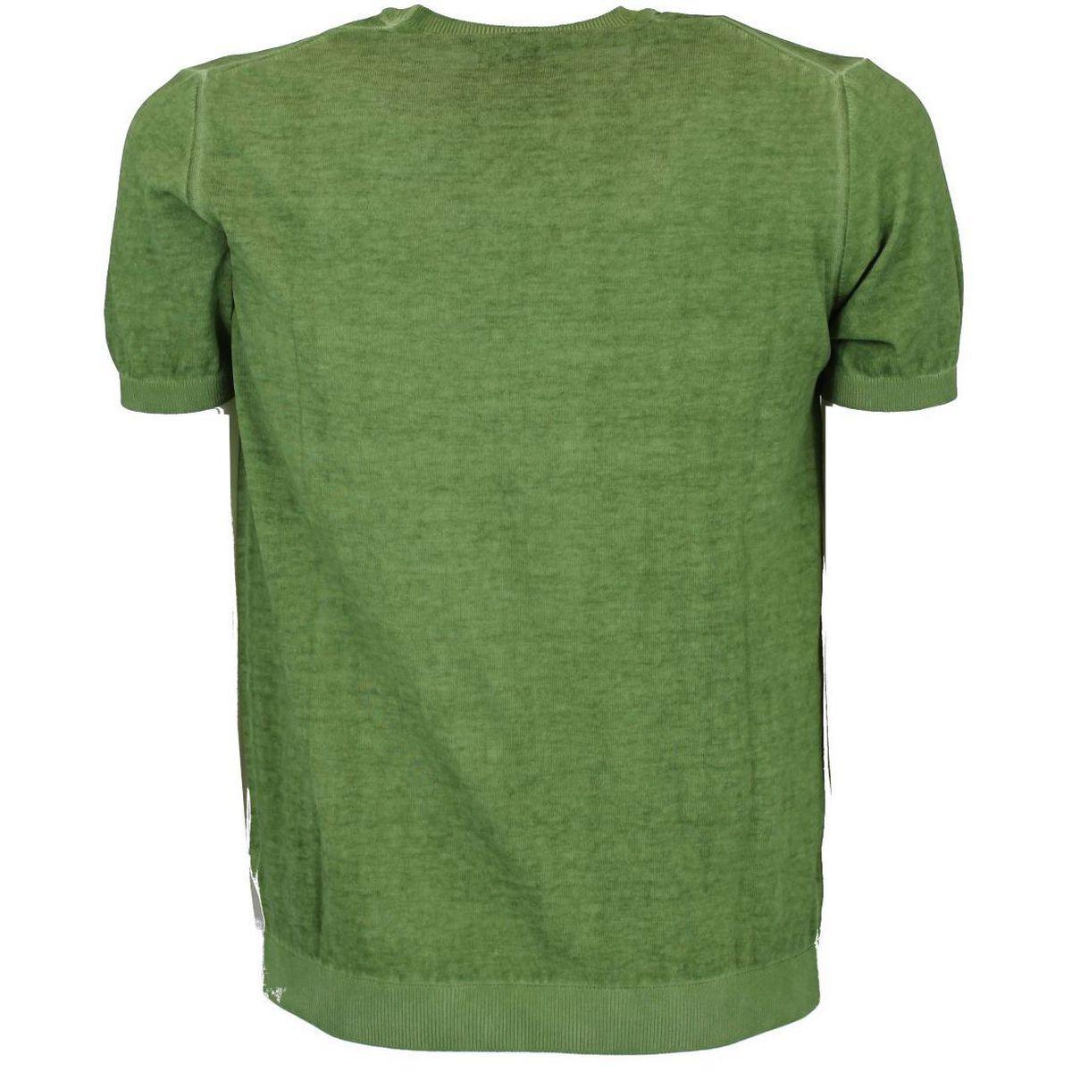 Maglia girocollo a maniche corte Verde Seventy