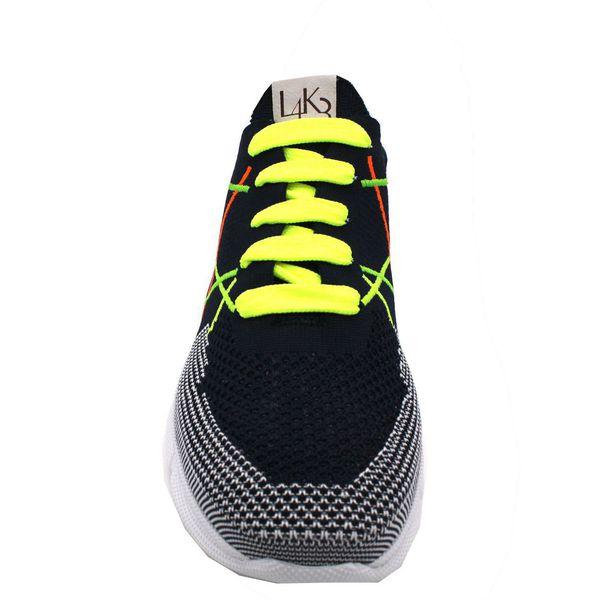 2. Sneakers allacciata con suola in gomma leggerissima color fluo L4K3 Fluo L4k3