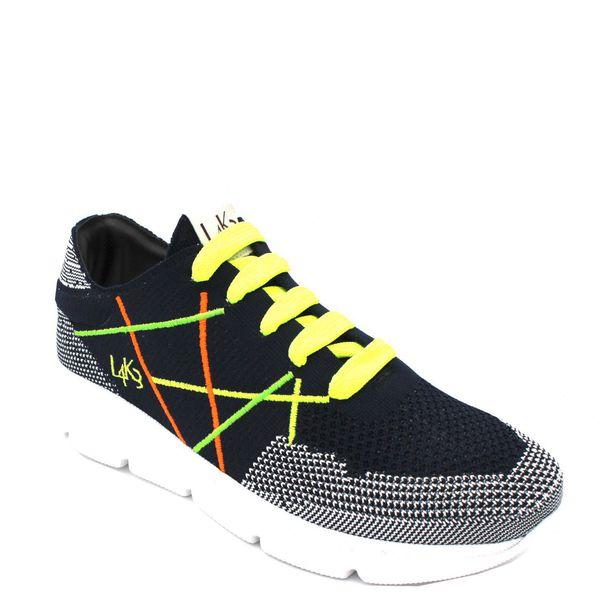 5. Sneakers allacciata con suola in gomma leggerissima color fluo L4K3 Fluo L4k3