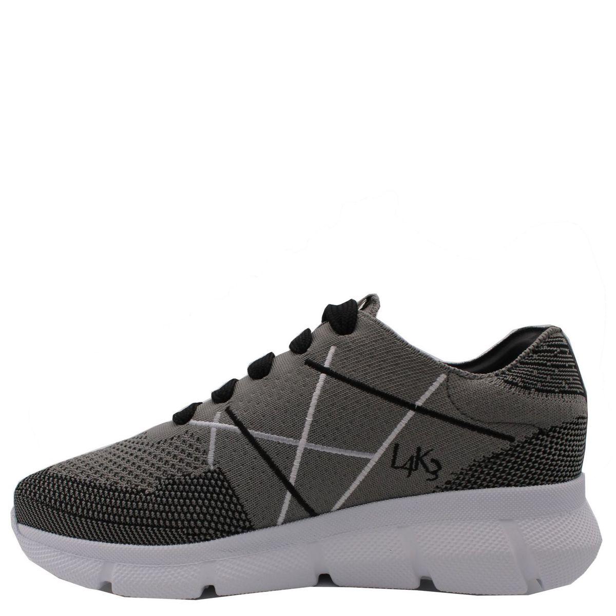 1. Sneakers allacciata con suola in eva ultralight L4K3 Grigio L4k3