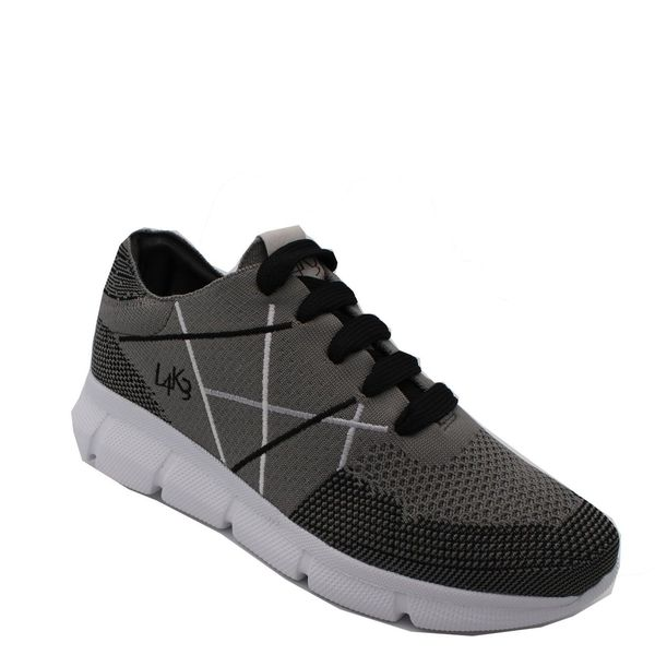 5. Sneakers allacciata con suola in eva ultralight L4K3 Grigio L4k3