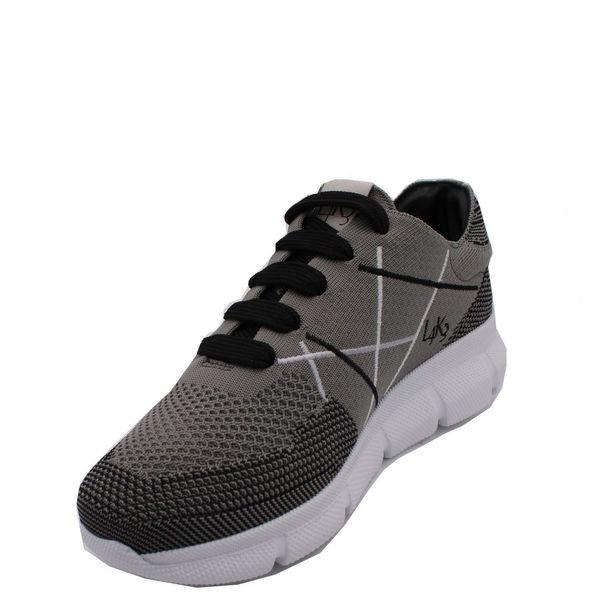 4. Sneakers allacciata con suola in eva ultralight L4K3 Grigio L4k3
