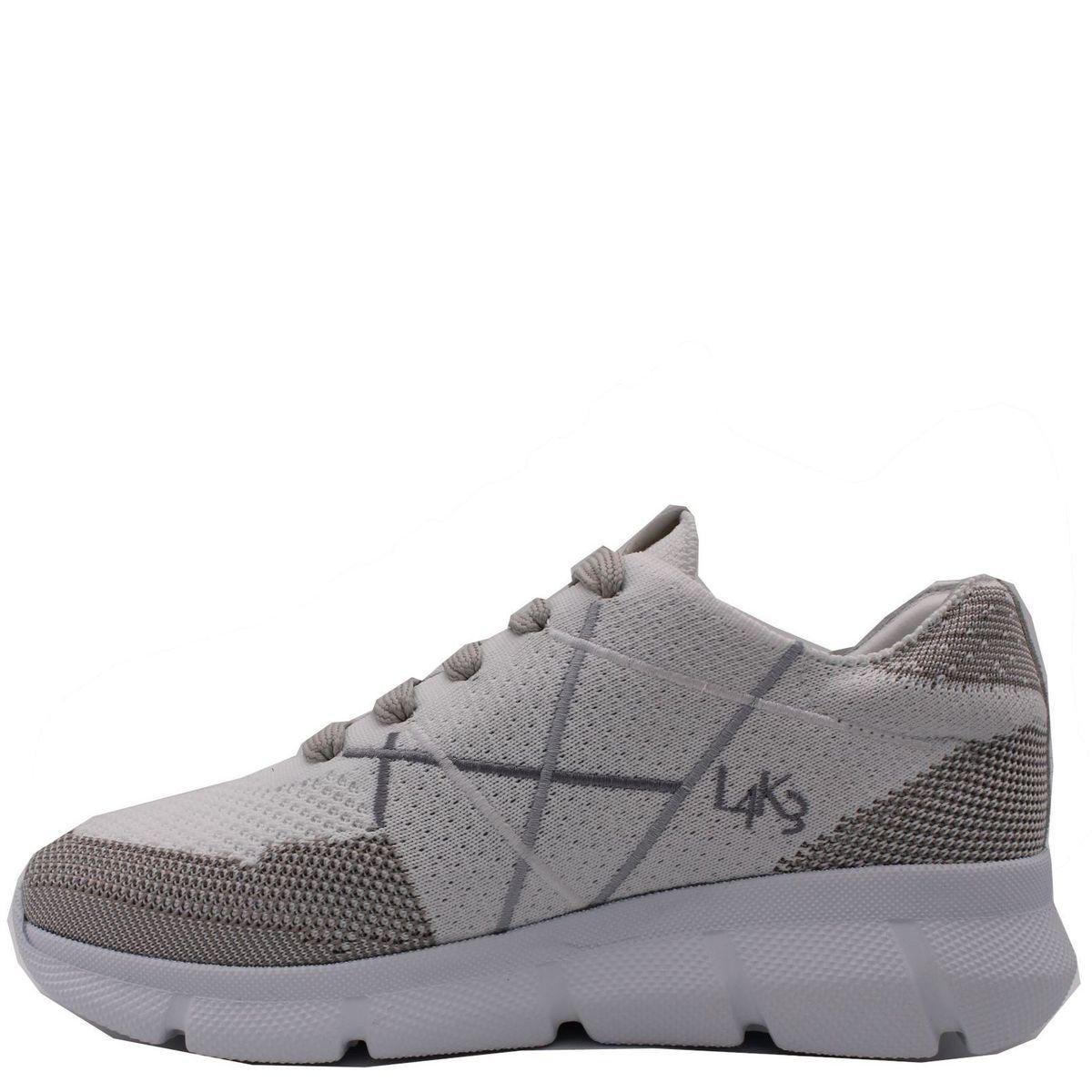 1. Sneakers allacciata con suola in eva ultraleggera L4K3 Bianco L4k3