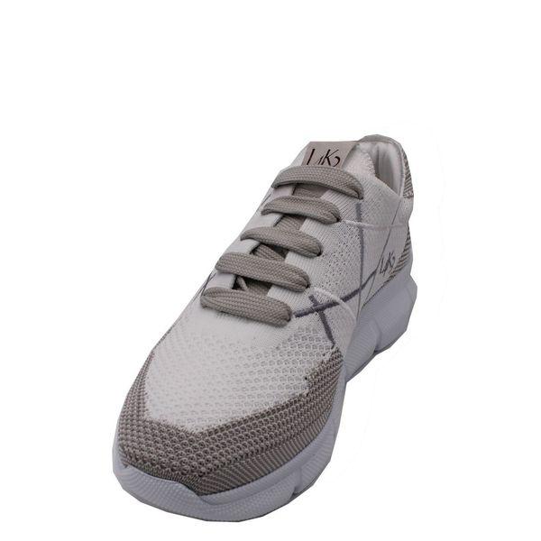 4. Sneakers allacciata con suola in eva ultraleggera L4K3 Bianco L4k3