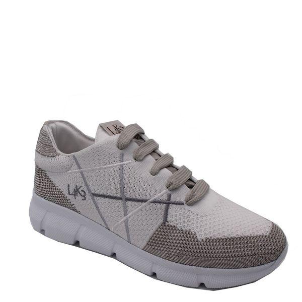 5. Sneakers allacciata con suola in eva ultraleggera L4K3 Bianco L4k3