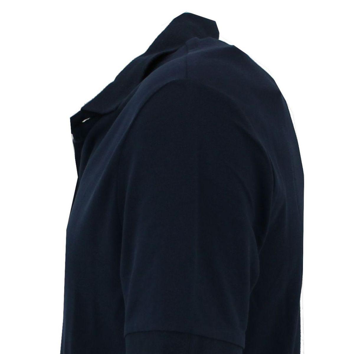 Polo di cotone vestibilità slim fit Blue At.p.co