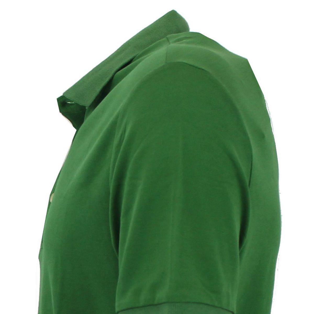 Polo di cotone vestibilità slim fit Verde At.p.co