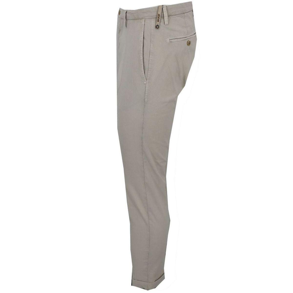 Pantalone in cotone con logo Beige At.p.co