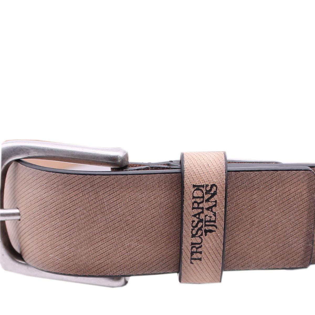 Cintura in tessuto vintage Beige Trussardi