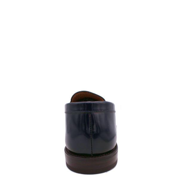 3. Mocassino in pelle con suola in cuoio Fabi Blue Fabi