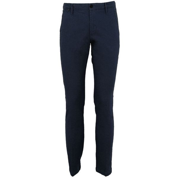 Pantalone in unica tinta Blue At.p.co
