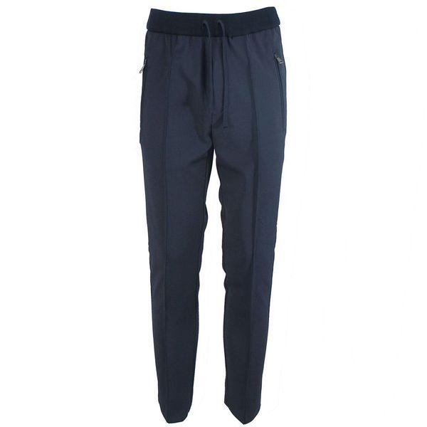 Pantalone in jersey Blue Paolo Pecora Milano