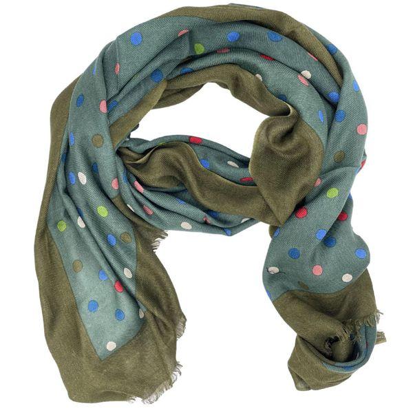 1. Sciarpa in lana morbida At.p.co Verde At.p.co