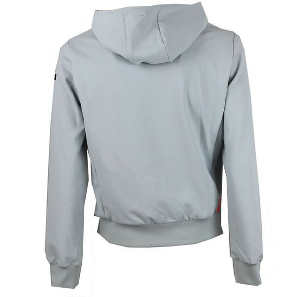 Felpa winter fleece con zip Bianco RRD